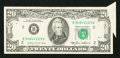 Error Notes:Attached Tabs, Fr. 2075-B $20 1985 Federal Reserve Note. Very Fine.. ...