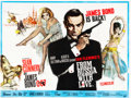 "Movie Posters:James Bond, From Russia with Love (United Artists, 1964). British Quad (30"" X40"").. ..."