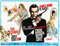 "From Russia with Love (United Artists, 1964). British Quad (30"" X 40"")"