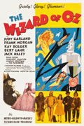 "Movie Posters:Fantasy, The Wizard of Oz (MGM, 1939). One Sheet (27"" X 41"") Style D.. ..."