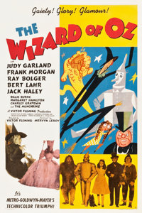 "The Wizard of Oz (MGM, 1939). One Sheet (27"" X 41"") Style D"
