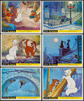 """Movie Posters:Animation, The Aristocats (Walt Disney Productions, 1970). British Front of House Mini Lobby Card Set of 12 (8"""" X 10""""). Animation.. ... (Total: 12 Items)"""