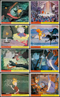 """Movie Posters:Animation, The Sword in the Stone (Buena Vista, 1963). British Front of House Color Photos (8) (8"""" X 10""""). Animation.. ... (Total: 8 Items)"""