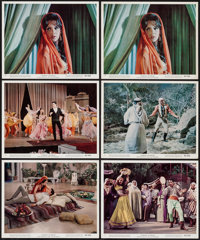 "Harum Scarum (MGM, 1965). Color Photos (6) & Black and White Portrait Photos (4) (8"" X 10""). Elvis Presley..."