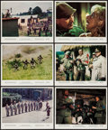 """Movie Posters:War, The Dirty Dozen (MGM, 1967). Color Photos (6) (8"""" X 10""""). War.. ...(Total: 6 Items)"""