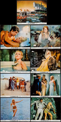 "Movie Posters:Fantasy, The Vengeance of She & Other Lot (20th Century Fox, 1968).Color Photos (9) (8"" X 10""). Fantasy.. ... (Total: 9 Items)"