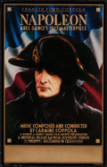 """Movie Posters:Foreign, Napoleon (Zoetrope, R-1981). Window Card (14"""" X 22""""). Foreign.. ..."""