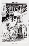 Original Comic Art:Covers, Bruce McCorkindale Nick Fury, Agent of SHIELD #3 CoverRecreation Illustration Original Art (2013)....
