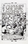 Original Comic Art:Covers, Bruce McCorkindale Captain America #101 Cover RecreationIllustration Original Art (2012)....