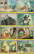 "Movie Posters:Animation, The Jungle Book (Walt Disney Productions, 1967). British Front of House Color Photo Set of 8 (8"" X 10""). Animation.. ... (Total: 8 Items)"