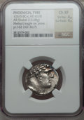Ancients:Greek, Ancients: PHOENICIA. Tyre. 126/5 BC-AD 65/6. AR shekel (13.68gm). ...