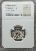 Ancients:Roman Imperial, Ancients: Domitian (AD 81-96). AR denarius (3.33 gm). ...