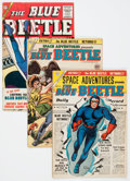 Golden Age (1938-1955):Science Fiction, Space Adventures/Blue Beetle Group (Charlton, 1954-66) Condition:Average FN.... (Total: 12 Comic Books)