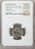 Ancients:Roman Imperial, Ancients: Constantine I the Great (AD 307-337). BI reduced follis(4.58 gm). ...