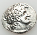 Ancients:Greek, Ancients: PTOLEMAIC EGYPT. Ptolemy IX, with Cleopatra III (firstreign, 116-110 BC). AR tetradrachm (14.04 gm)....