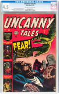 Golden Age (1938-1955):Horror, Uncanny Tales #5 (Atlas, 1953) CGC VG+ 4.5 Off-white to whitepages....