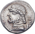 Ancients:Oriental, Ancients: PARTHIAN KINGDOM. Phraates II (132-127 BC). AR drachm (19mm, 3.87 gm, 12h)....