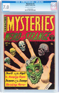 Golden Age (1938-1955):Horror, Mysteries #3 (Superior Comics, 1953) CGC FN/VF 7.0 Off-white towhite pages....