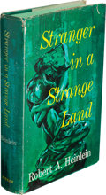 Books:Science Fiction & Fantasy, Robert A. Heinlein. Stranger in a Strange Land. New York: G.P. Putnam's Sons, [1961]. First edition, first printi... (Total: 2Items)