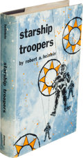 Books:Science Fiction & Fantasy, Robert A. Heinlein. Starship Troopers. New York: G. P.Putnam's Sons, [1959]. First edition, first printing (as pe...