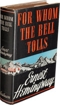 Books:Literature 1900-up, Ernest Hemingway. For Whom the Bell Tolls. New York: CharlesScribner's Sons, 1940. First edition, first printing,...