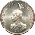 German East Africa, German East Africa: German Colony - Wilhelm II 2 Rupien 1893 MS64 NGC,...