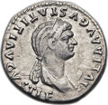 Ancients:Roman Imperial, Ancients: Julia Titi, daughter of Titus (Augusta, AD 78-90/1). AR denarius (19mm, 3.10 gm, 6h)....