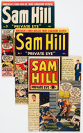 Golden Age (1938-1955):Crime, Sam Hill Private Eye #1-5 and 7 Group (Archie, 1950-51) Condition: Average VG.... (Total: 6 Comic Books)