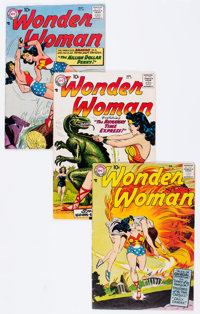 Wonder Woman #96-99 Group (DC, 1958) Condition: Average VG/FN.... (Total: 4 Comic Books)