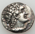 Ancients:Greek, Ancients: PTOLEMAIC EGYPT. Ptolemy VIII Euergetes II (145-116 BC).AR tetradrachm (14.04 gm). ...