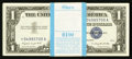 Small Size:Silver Certificates, Fr. 1620* $1 1957A Silver Certificates. Original Pack of 100.. ... (Total: 100 notes)