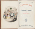 Books:Literature Pre-1900, Charles Dickens. Christmas Books, Including: A Christmas Carol.In Prose. Being a Ghost Story of Christmas. With Ill... (Total:5 Items)