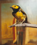 Photographs, ANDRES SERRANO (American, b. 1950). Hooded Warbler II, 2000. Chromogenic. 23-1/2 x 19-1/4 inches (59.7 x 48.9 cm). Signe...