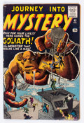Silver Age (1956-1969):Horror, Journey Into Mystery #63 (Marvel, 1960) Condition: VG....