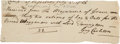 Autographs:Non-American, Guy Carleton, Lord Dorchester, Autograph Document Signed....