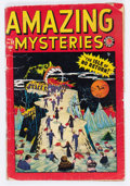 Golden Age (1938-1955):Horror, Amazing Mysteries #32 (Marvel, 1949) Condition: Apparent FR....