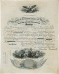 Autographs:U.S. Presidents, Theodore Roosevelt Naval Appointment Signed....