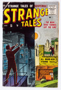 Golden Age (1938-1955):Horror, Strange Tales #36 (Atlas, 1955) Condition: VG....