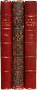 Books:Art & Architecture, [Joshua Reynolds]. Engravings from the Works of Sir Joshua Reynolds. London: Hodgson and Graves, [n.d., ca. 1833-183... (Total: 3 Items)