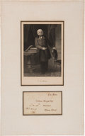 Autographs:U.S. Presidents, John Quincy Adams Autograph Cover with a Free Frank Signature....
