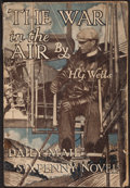 Books:Science Fiction & Fantasy, H. G. Wells. The War in the Air. London: [n.d.]....