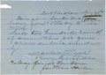 Autographs:Military Figures, Confederate General Daniel Ruggles Autograph Letter Signed....