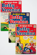 Silver Age (1956-1969):Humor, Archie's Girls, Betty and Veronica Group (Archie, 1956-60) Condition: Average VG+.... (Total: 16 Comic Books)