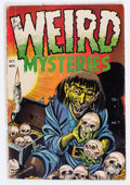 Golden Age (1938-1955):Horror, Weird Mysteries #7 (Gilmor, 1953) Condition: GD/VG....