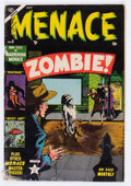 Golden Age (1938-1955):Horror, Menace #5 (Atlas, 1953) Condition: GD....