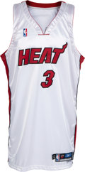 Basketball Collectibles:Uniforms, 2004-05 Dwyane Wade Game Worn Miami Heat Jersey. ...