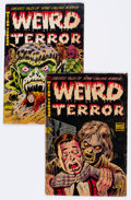 Golden Age (1938-1955):Horror, Weird Terror #3 and 4 Group (Comic Media, 1953) Condition: AverageGD-.... (Total: 2 Comic Books)