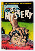 Golden Age (1938-1955):Horror, Mister Mystery #13 (Aragon, 1953) Condition: VG....