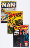 Golden Age (1938-1955):Miscellaneous, Golden to Silver Age Miscellaneous Comics Group (Various Publishers, 1940s-60s).... (Total: 5 Comic Books)