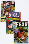 Bronze Age (1970-1979):Horror, Marvel Bronze Age Horror Comics Group (Marvel, 1970s) Condition:Average VF/NM.... (Total: 13 Comic Books)